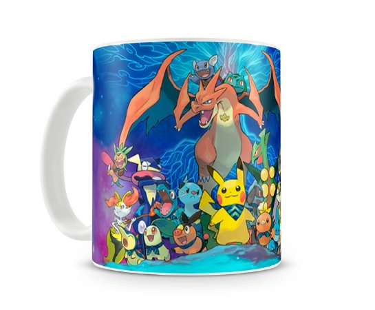 Caneca Pokémon Super Mystery Dungeon