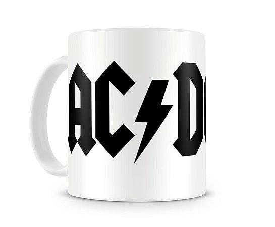 Caneca AC DC Logo I