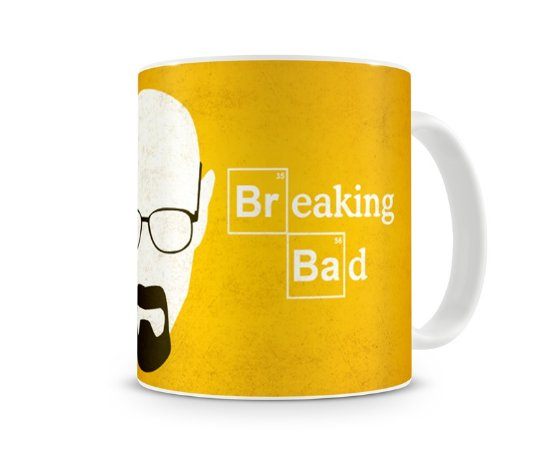Caneca Breaking Bad Walter Head I