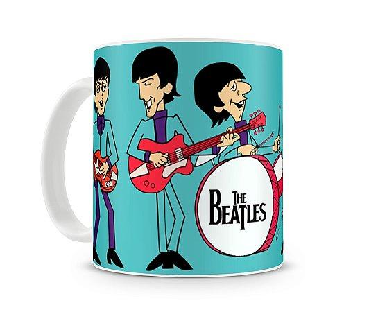 Caneca Beatles Desenho Banda