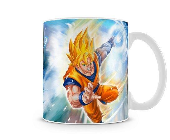 Caneca Dragon Ball Cell x Goku