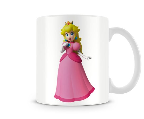 Caneca Mario Bros Peach II