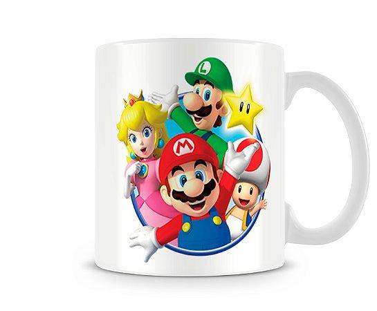 Caneca Mario Bros All I