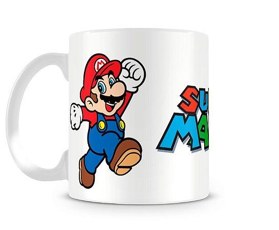 Caneca Super Mario