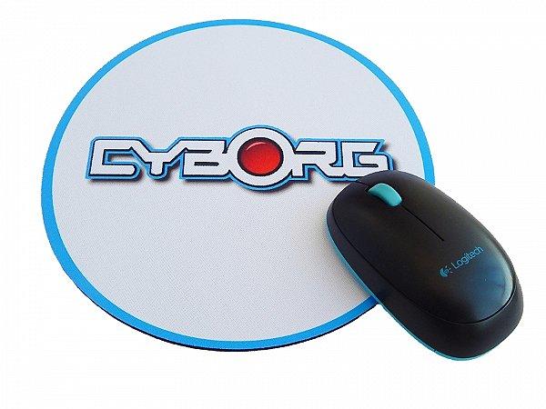 Mousepad Redondo Cyborg