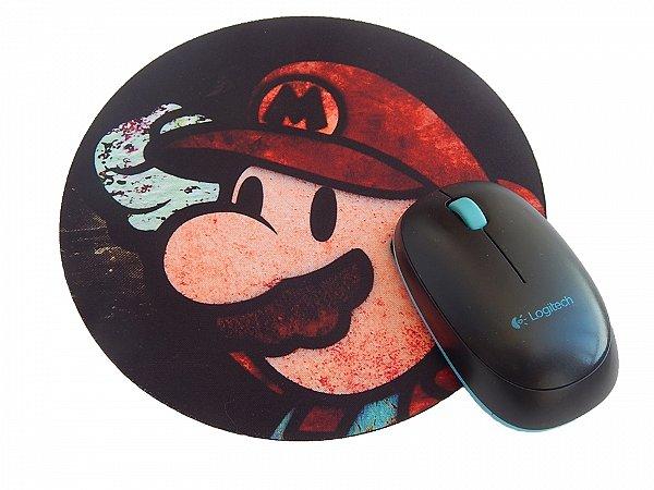 Mousepad Redondo Mario Pintura