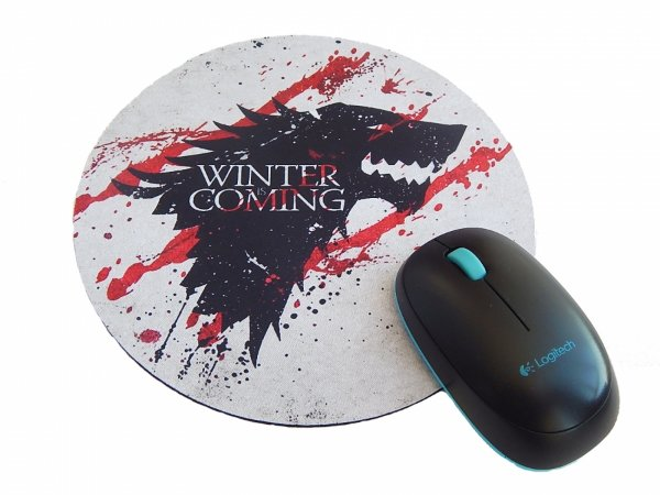 Mousepad Game of Thrones winter is coming blood