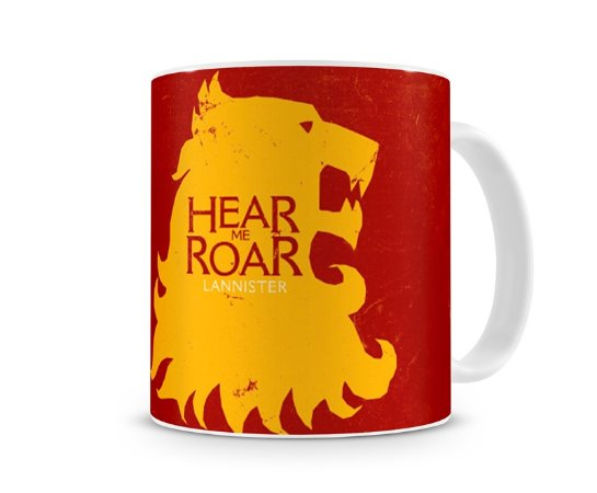 Caneca Game of Thrones Lannister Red II