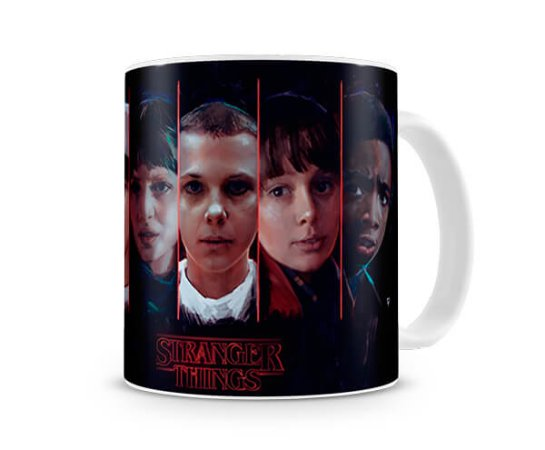 Caneca Stranger Things HEads