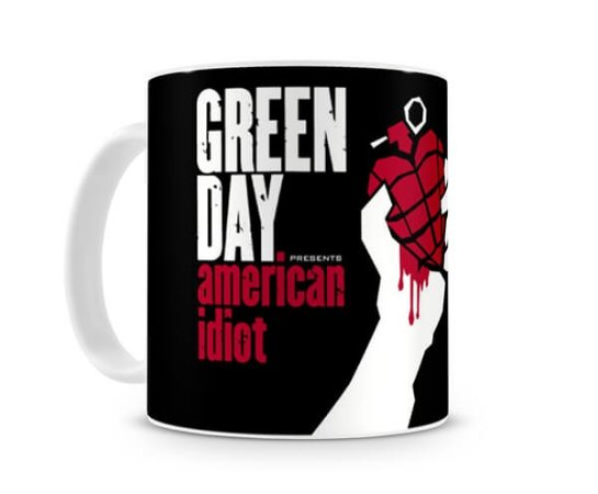 Caneca Green Day American Idiot I