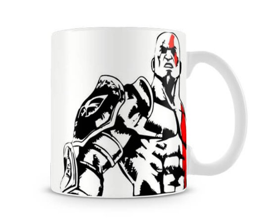 Caneca God of War Kratos II