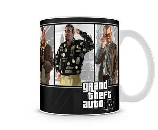 Caneca GTA IV I