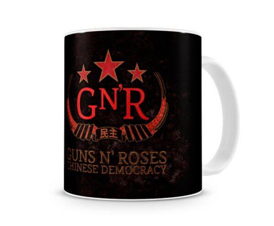Caneca Guns N Roses Chinese Democracy