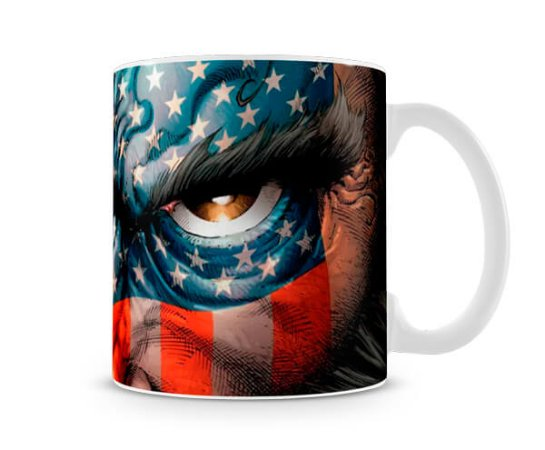 Caneca X Men Wolverine America