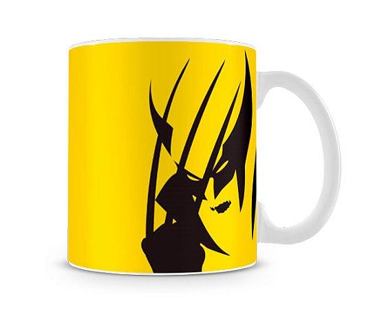 Caneca X Men Wolverine Yellow II