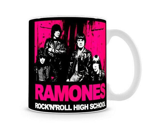 Caneca Ramones rock n roll high school