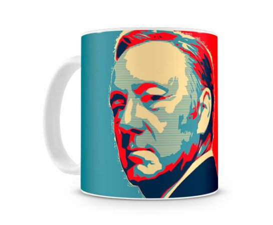 Caneca House of Cards Frank