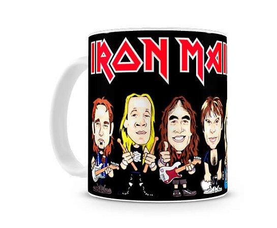 Caneca Iron Maiden Desenho