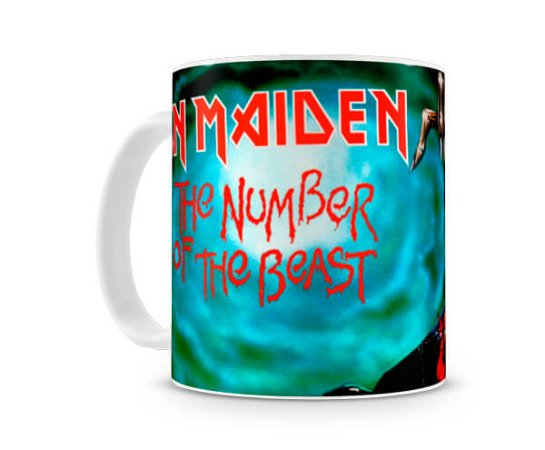 Caneca Iron Maiden The Number Of The Beast