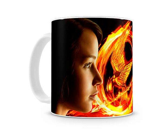 Caneca Jogos Vorazes Katniss e Petta