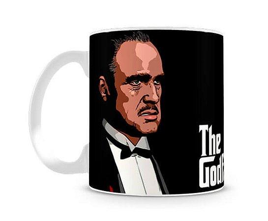 Caneca Poderoso Chefão Vito Corleone Desenho