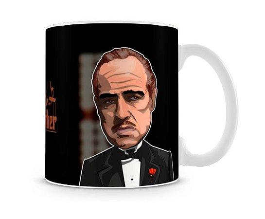 Caneca Poderoso Chefão Vito Corleone Desenho II