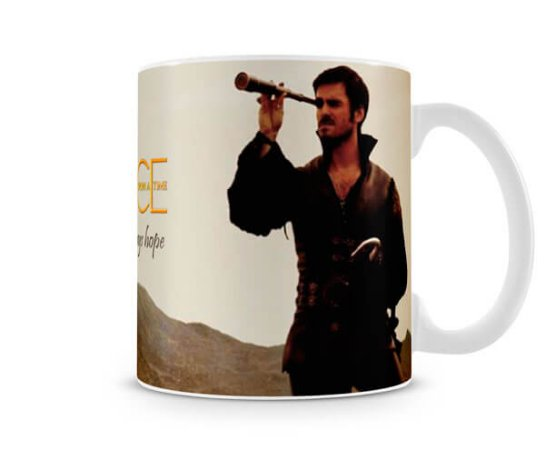 Caneca Once Upon a Time Gancho Hook