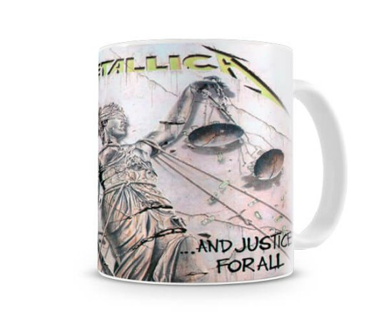 Caneca Metallica And Justice For All