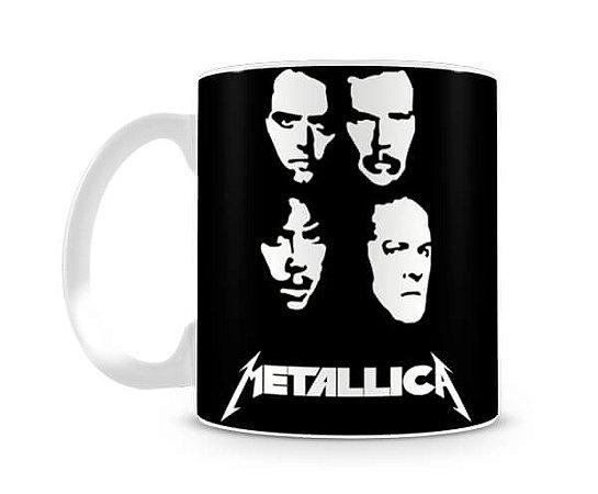 Caneca Metallica Heads