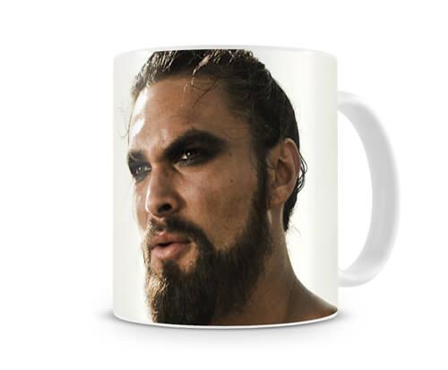 Caneca Game of Thrones Khal Drogo Head