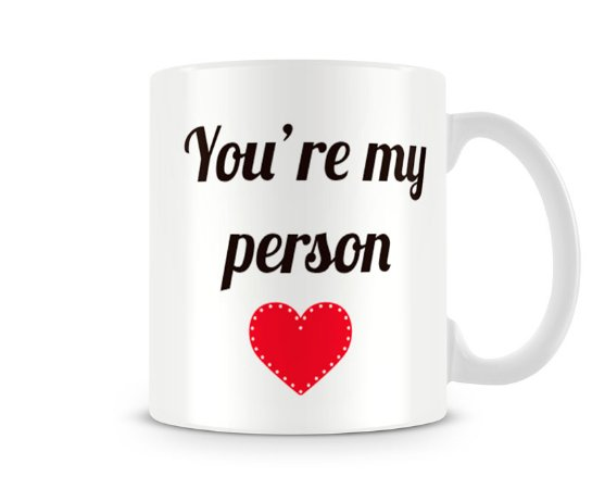 Caneca Greys Anatomy You are my person III