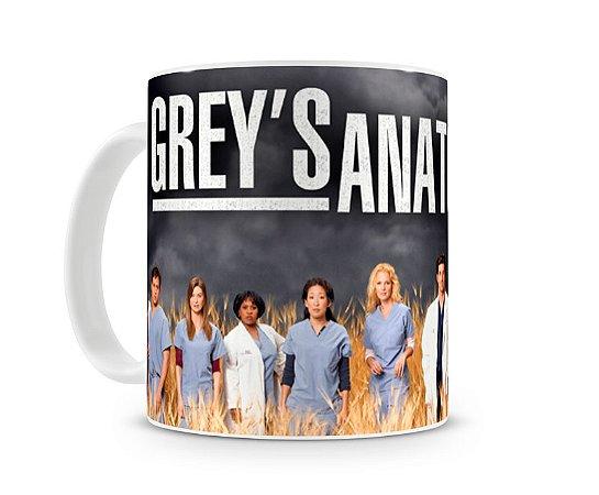 Caneca Greys Anatomy Personagens I