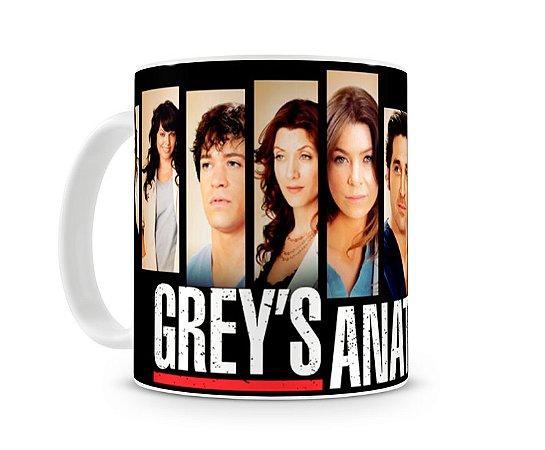 Caneca Greys Anatomy Personagens II