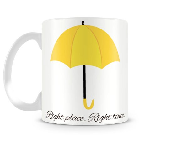 Caneca How I met your mother right place