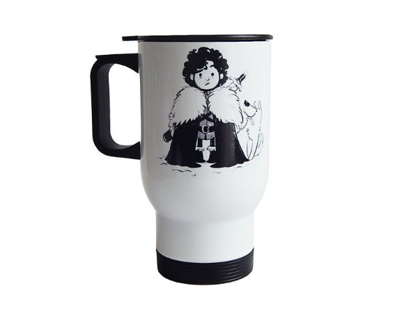 Caneca térmica Game of Thrones Jon Snow