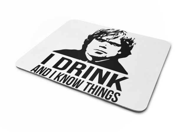Mousepad GOT Tyrion Lannister Think