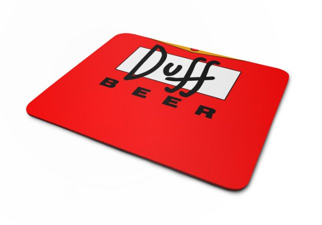 Mousepad Simpsons Duff Beer
