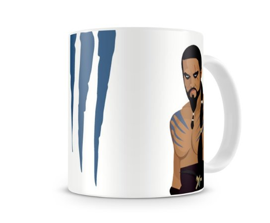 Caneca Game of Thrones Khal Drogo III