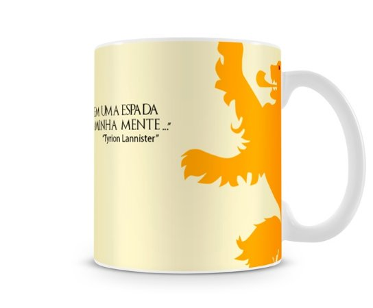 Caneca Game of Thrones Tyrion Lannister Frase