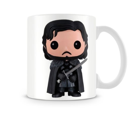 Caneca Game of Thrones Jon Snow Funko Pop