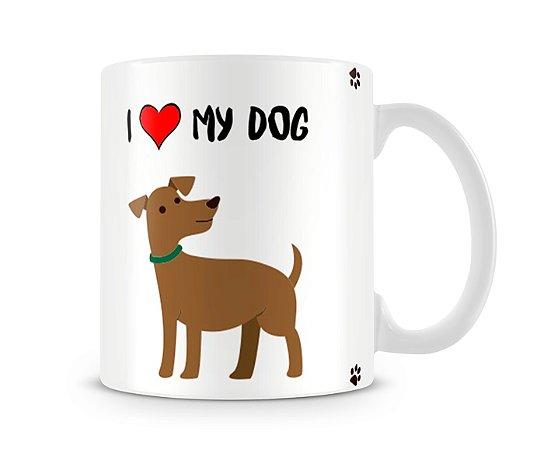 Caneca I Love my dog