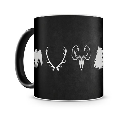 Caneca Mágica Game Of Thrones Casas III