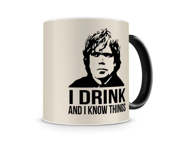 Caneca Mágica Game Of Thrones Tyrion