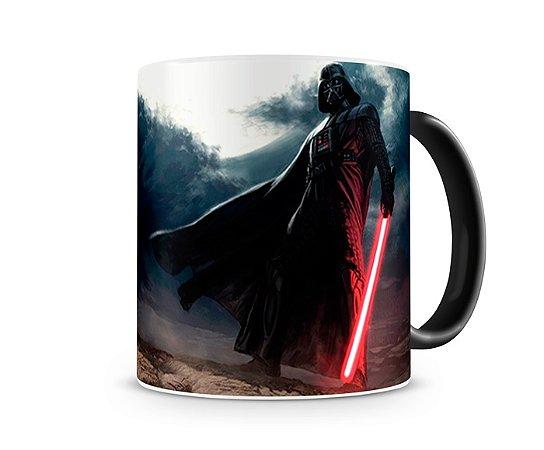 Caneca Mágica Star Wars Darth Vader Deserto