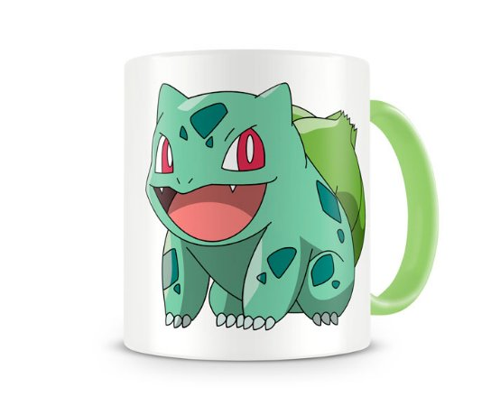 Caneca Pokémon Bulbasaur color green
