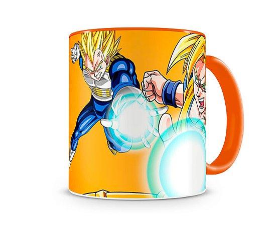 Caneca Dragon Ball Goku III Orange