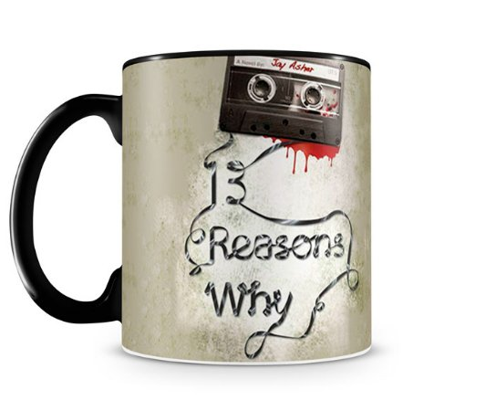 Caneca 13 Reasons Why Black