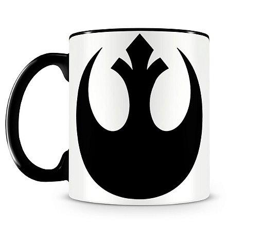 Caneca Star Wars Rebel Alliance Black