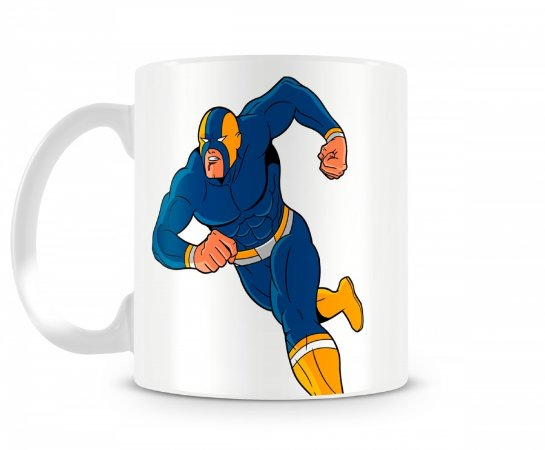Caneca Super Herói Resistente Mod 01