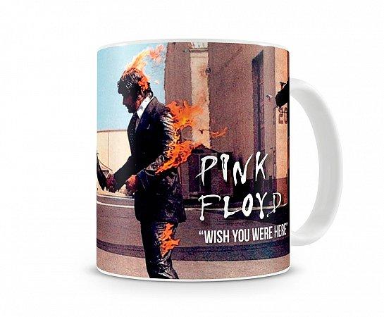 Caneca Pink Floyd Wish You Were Here II